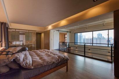 Vista de dormitorio de apartamento