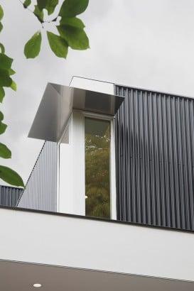 Detalles constructivos de casa de dos pisos