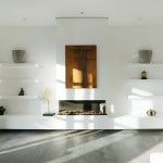 Diseño de chimenea moderna
