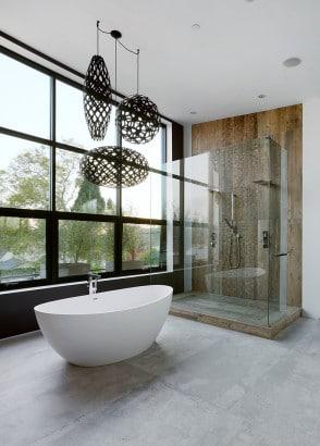 Diseño de cuarto de baño moderno 3
