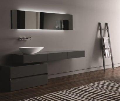 Diseño de cuarto de baño ultra moderno