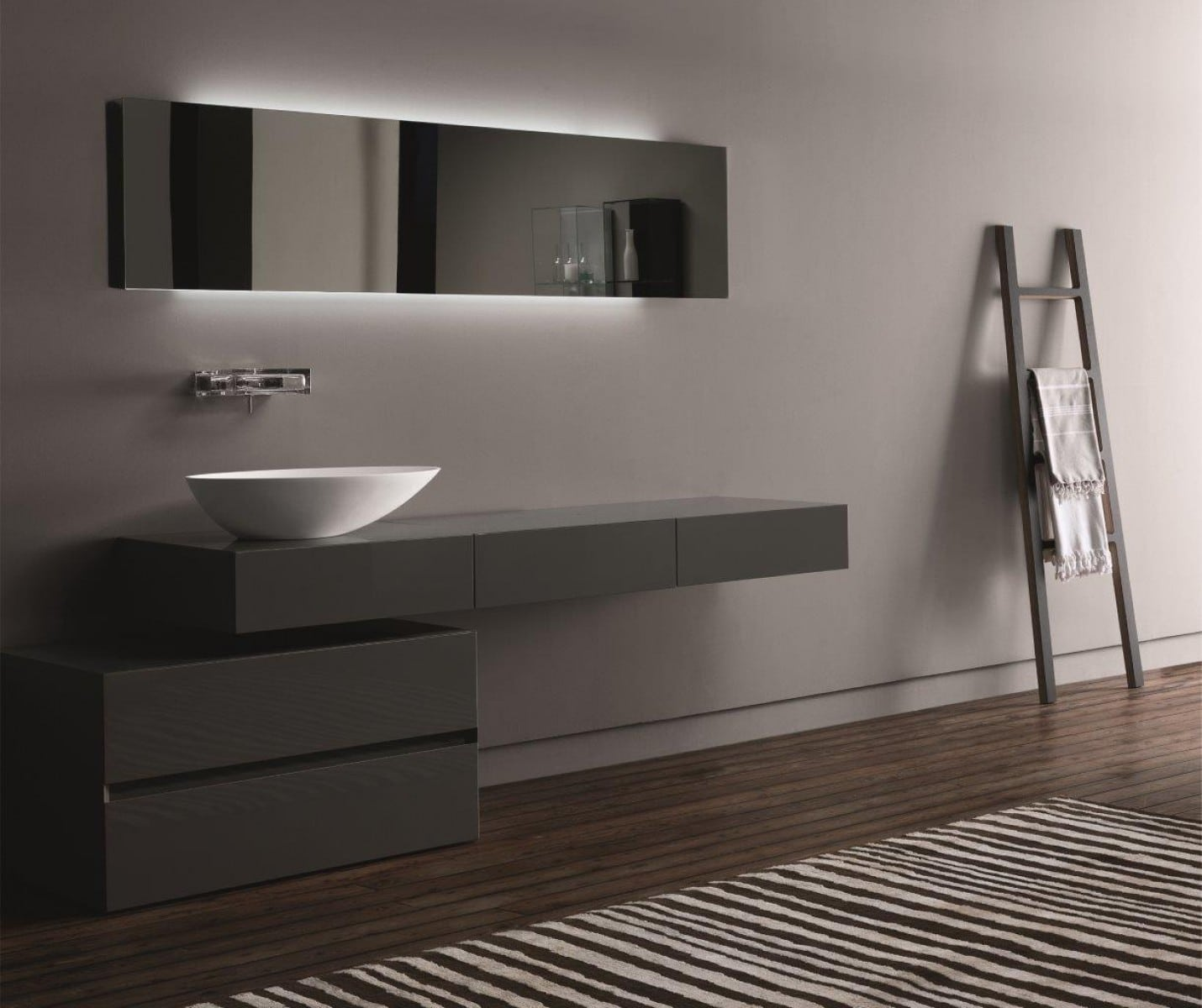 Dise o de cuartos de ba o modernos fotos construye hogar for Banos super modernos