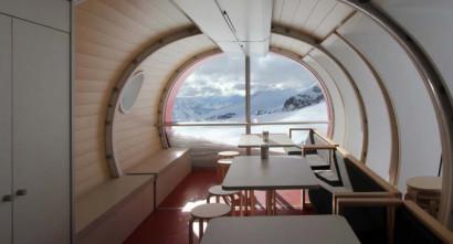 Diseño de interiores de cabaña modular