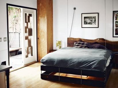 Diseño de interiores de domitorio pequeño