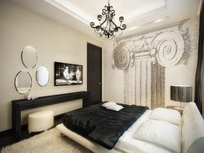 Diseño de paredes estilo retro