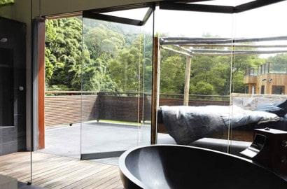 Diseño de terraza rústica