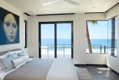 Dormitorio vista al mar