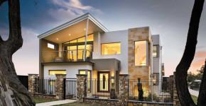 moderna casa de dos pisos con fachada y diseo interior que te inspirar