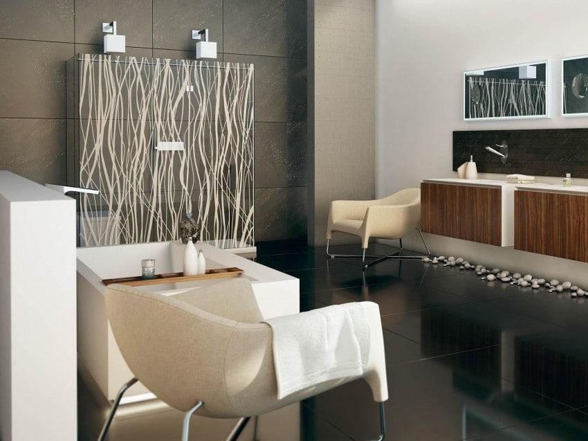 Imagenes De Baños Para Jovenes:Decoración de cuarto de baño donde se emplean elementos encontrados
