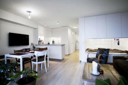 Diseño de apartamento para jovenes