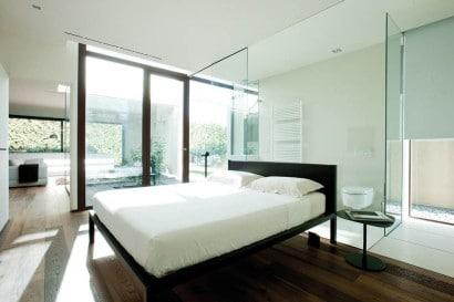 Diseño de dormitorio con cuarto de baño 2