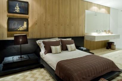 Diseño de dormitorio con tocador