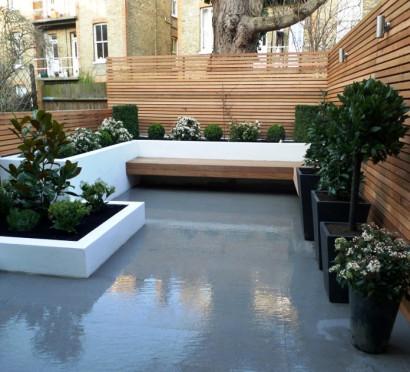 Diseño de jardín en el techo  mostbeautifulgardens.com