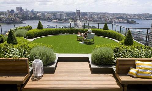 hermosos diseos de jardn en el techo de la casa construye un techo verde decorativo