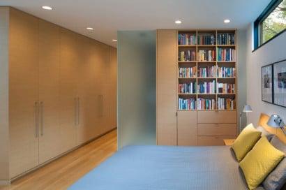 Diseño de moderno dormitorio