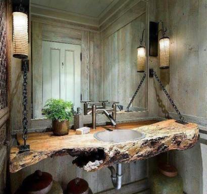 Diseño original de cuarto de baño Via Christina Fagundes