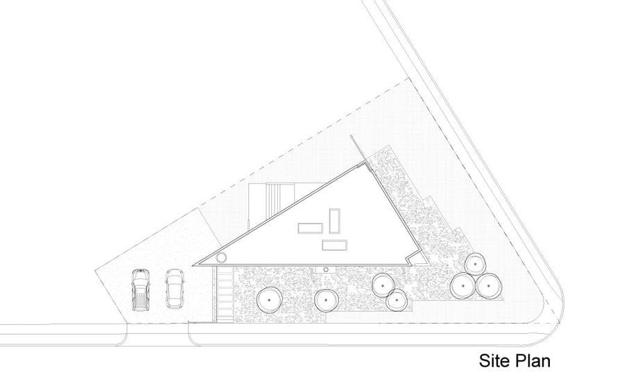 Plano De Ubicacin Casa Triangular Construye Hogar