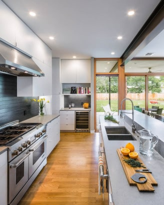 Dise o de cocina lineal construye hogar - Construye hogar ...