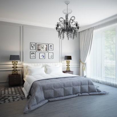 Diseño de dormitorio moderno  Yury Rybak