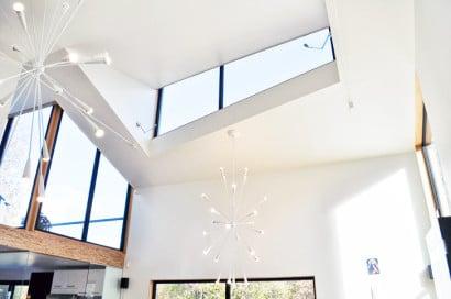 Diseño de interiores de casa pasiva