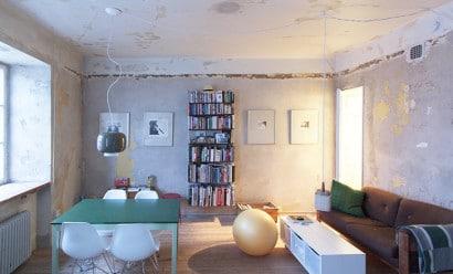 Pequeño apartamento en proceso de renovación