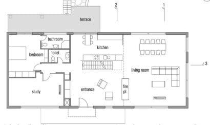 Planos de casa pasiva