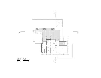 Planos segunda planta de casa grande