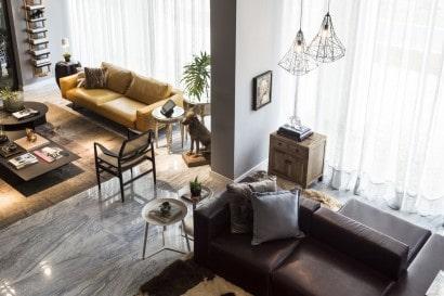 Vista  desde el mezzanine del apartamento