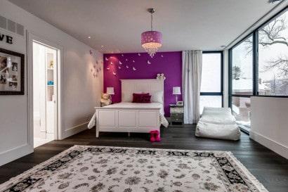 Decoración de dormitorio para chicas