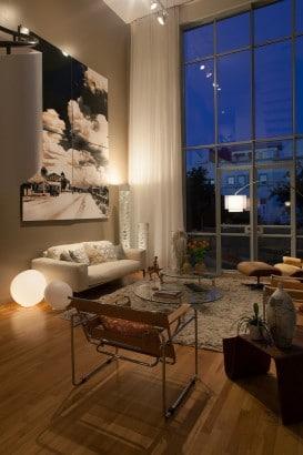 Decoración de sala moderna
