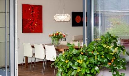 Diseño de comedor de apartamento