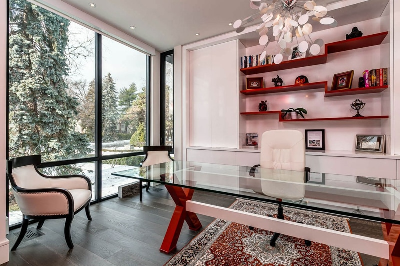 Casa de dos pisos planos y decoraci n construye hogar - Habitacion estudio decoracion ...