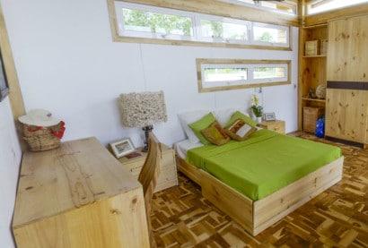 Diseño de dormitorio especial para mayores de edada