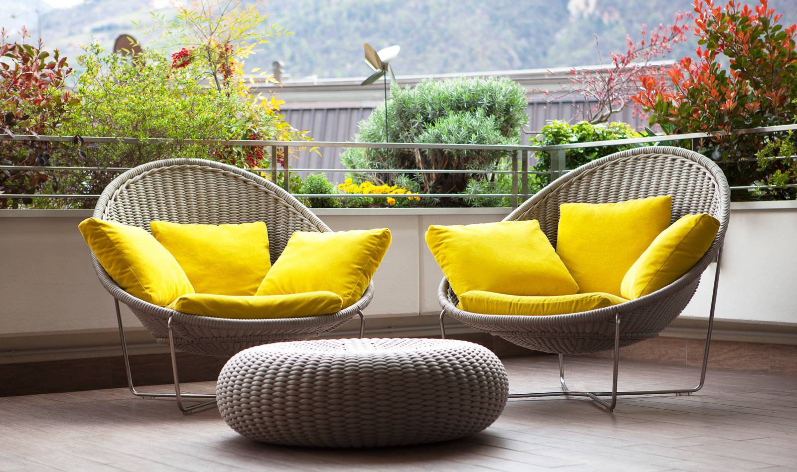 Dise o de planos de apartamento e interior construye hogar - Sillones para terrazas ...