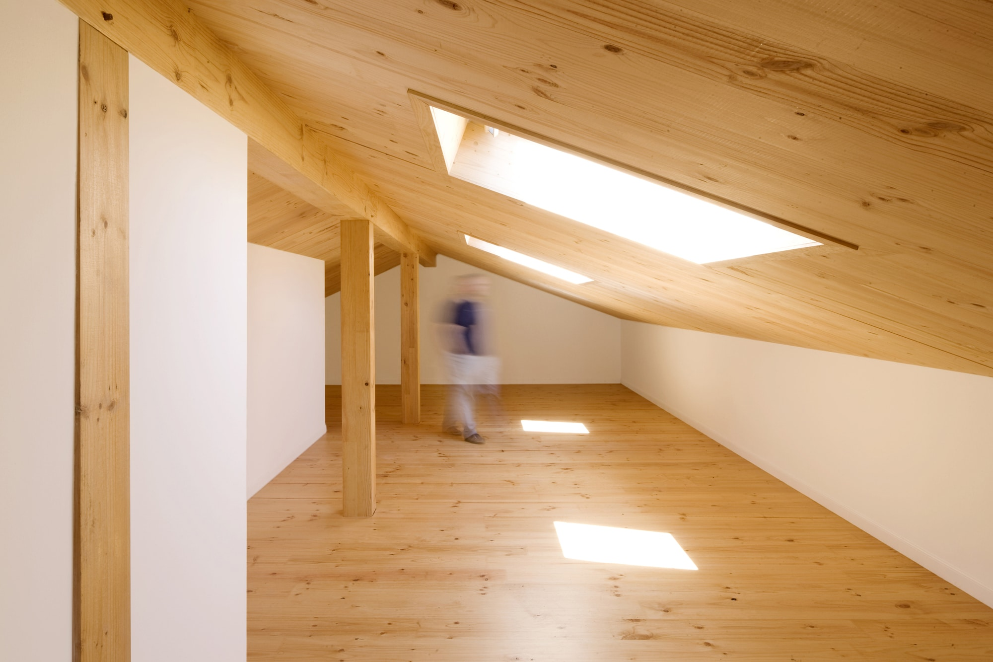 Dise o de casa r stica de piedra planos construye hogar - Madera para techos interiores ...