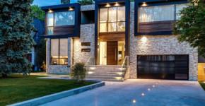 diseo de casa de dos pisos que impresiona con fachada rstica y decoracin de interiores