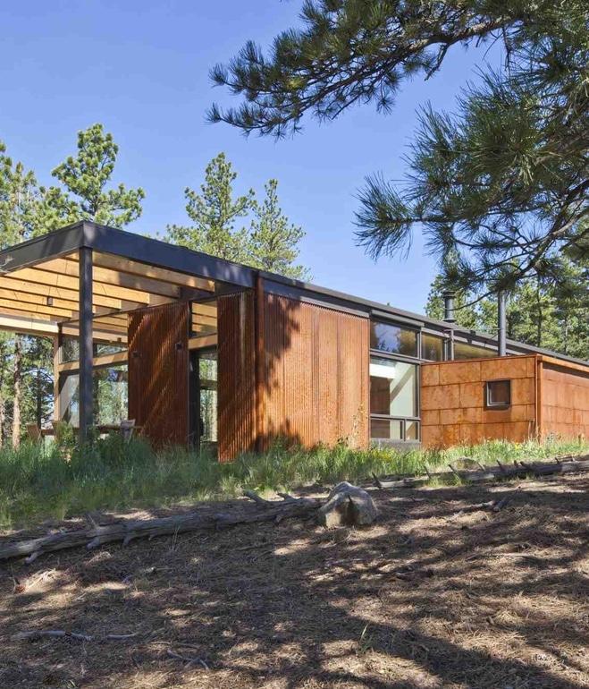 Como Se Construye Una Casa #2: Fachada-de-pequeña-casa-autosustentable.jpg