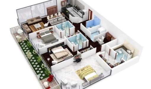 Planos en 3d de casas imagui for Construye tu casa en 3d