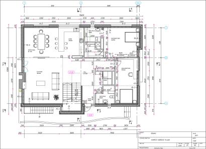 Planos de casa moderna de campo