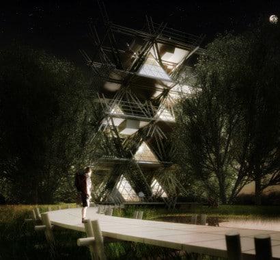 Proyecto de casas de bambú