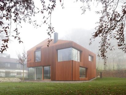 Diseño de casa de madera 2