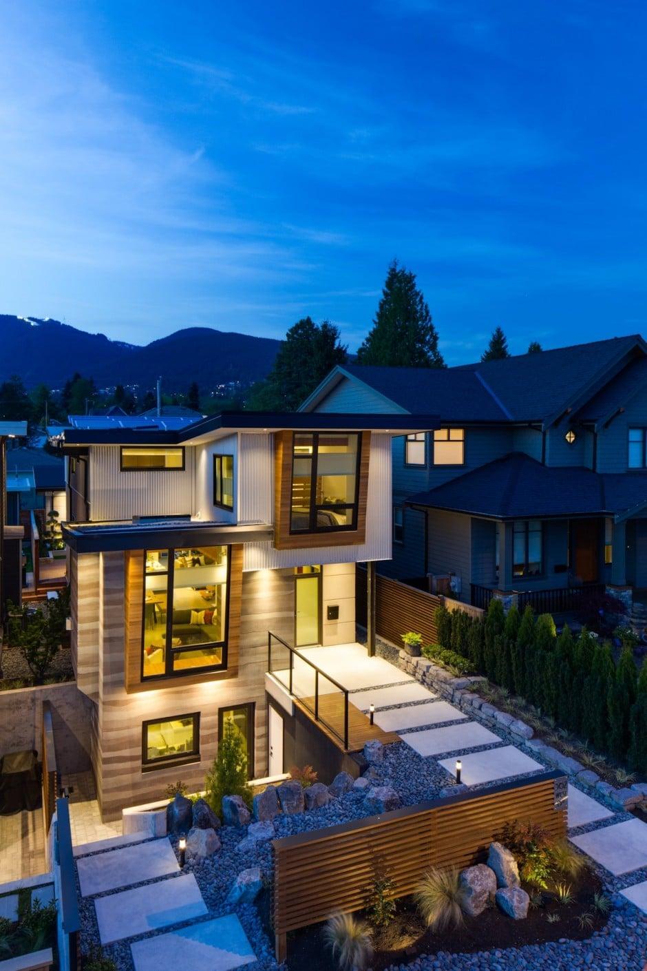 Dise o de casa moderna construye hogar for Construye hogar