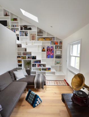 Dise o de mini departamento moderno construye hogar - Construye hogar ...