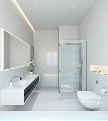 Cuarto de baño ultra moderno