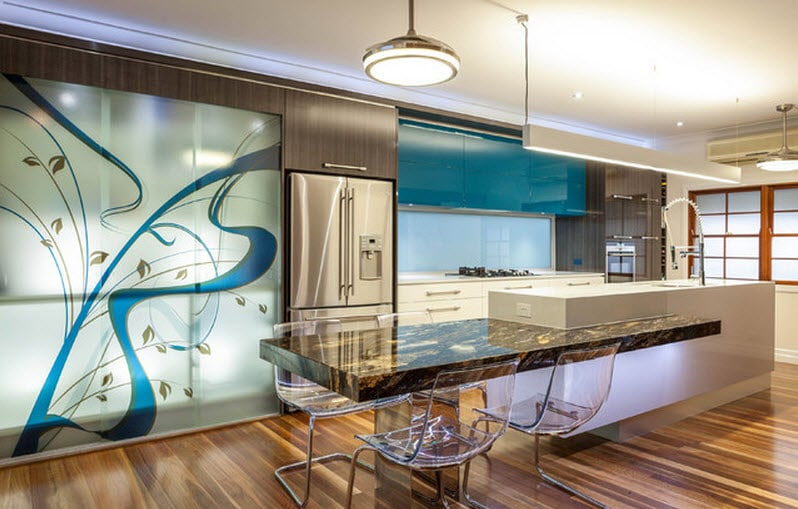 Dise os de modernas cocinas con islas construye hogar - Adornos para cocinas modernas ...