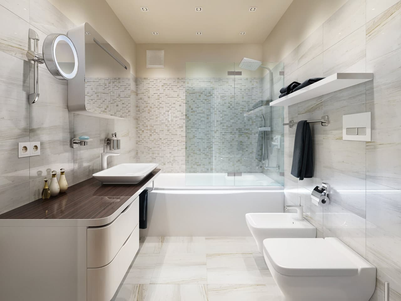 Iluminacion Baño Moderno:Decoración de interiores modernos, ideas para renovar tu sala, cocina