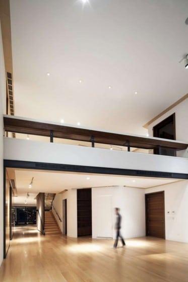 Departamento de lujo con techo a doble altura
