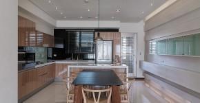plano y diseo de casa pequea moderna decoracin de interiores con un interesante trabajo de iluminacin