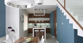 diseo de casa moderna de dos plantas incluimos los planos y la decoracin de interiores que integra