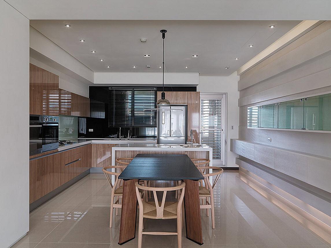 Diseno De Baño Social:Plano y diseño de casa pequeña, moderna decoración de interiores